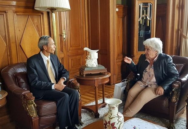 进一步加强越南与乌拉圭友好合作关系 hinh anh 1