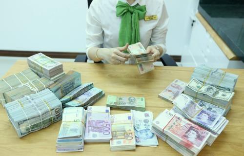 4月16日越盾兑美元中心汇率下降6越盾 hinh anh 1