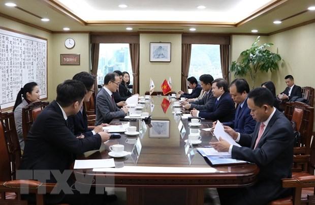 越韩加强检察领域的合作 hinh anh 1