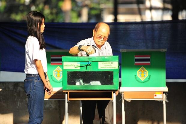 泰国搞定重新投票最后期限 hinh anh 1