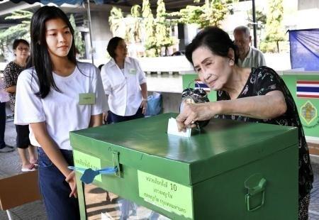 泰国搞定重新投票最后期限 hinh anh 2
