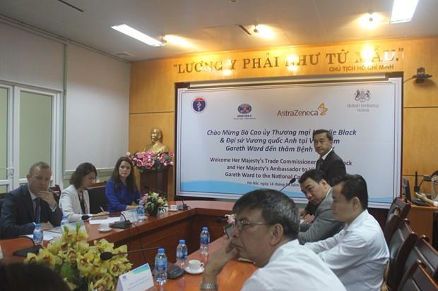 越南与英国合作提升癌症治疗质量 hinh anh 1
