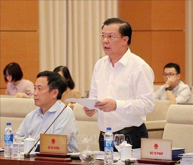 国会常委会第33次会议:确保证券市场的稳步可持续发展 hinh anh 2
