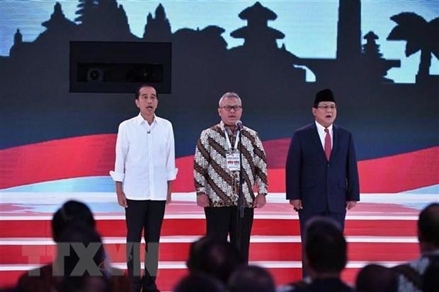 印度尼西亚今日举行总统和各级议会选举 hinh anh 1