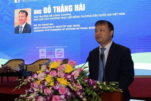 充分发挥越南国家品牌的优势 hinh anh 1