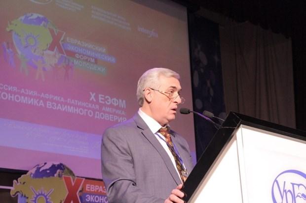 越南参加第10届欧亚青年经济论坛 hinh anh 2