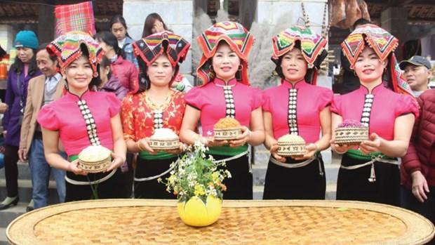 保护越南少数民族传统服装 hinh anh 1