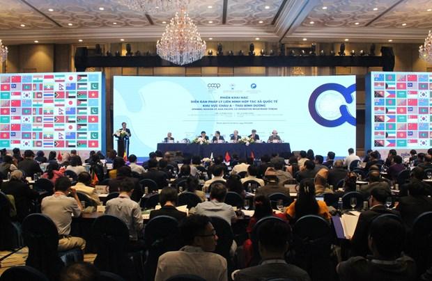2019年亚太地区国际合作社联盟法律论坛在胡志明市举行 hinh anh 2