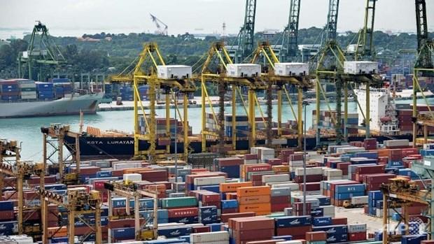 新加坡出口额降幅创两年来最低 hinh anh 1