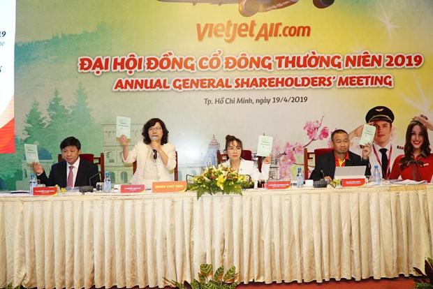 2019年越捷计划继续扩大航线网络 hinh anh 1