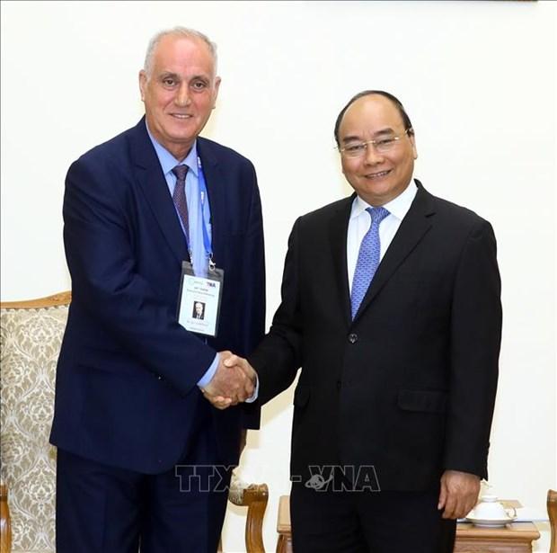 政府总理阮春福会见出席OANA 44的各家通讯社代表团团长 hinh anh 2