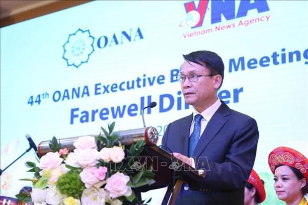 政府总理阮春福会见出席OANA 44的各家通讯社代表团团长 hinh anh 3