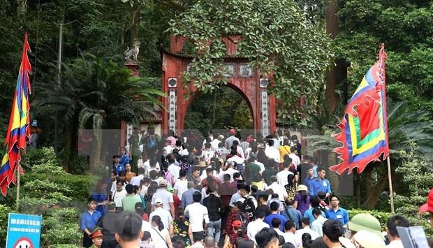 2019年雄王祭祖日与雄王庙会:富寿省接待游客量超过700万人次 hinh anh 1