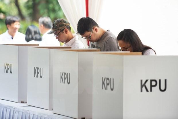印尼大选:巴布亚省投票站遭武装犯罪团伙攻击 hinh anh 1