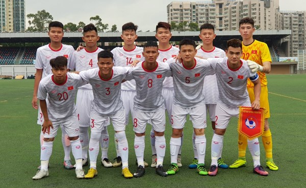 2019中国香港国际U18足球赛:越南队取得开门红 hinh anh 1