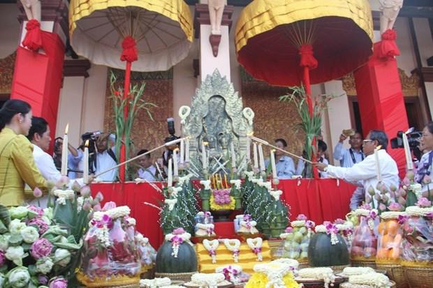 柬埔寨传统新年期间国内外游客人数增长近70% hinh anh 1