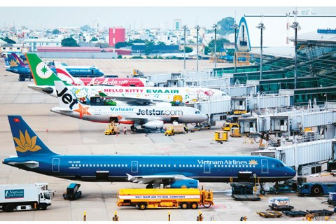 今年第一季度越南航空总公司的营业总收入增长了4.3% hinh anh 1