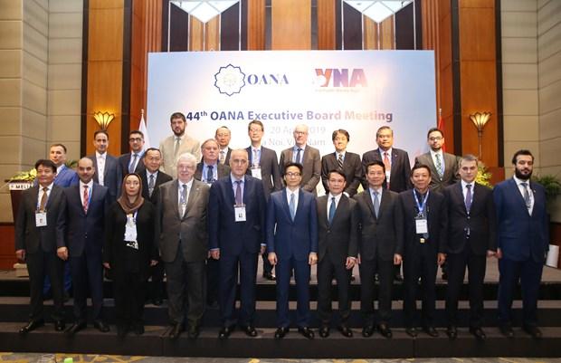 地区新闻媒体机构密集报道关于亚太通讯社组织执行委员会第44次会议的消息 hinh anh 1