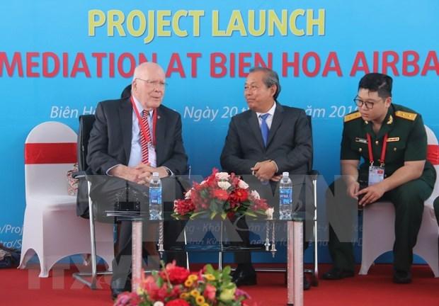 越南和美国签署意向书为残疾人提供协助 hinh anh 1