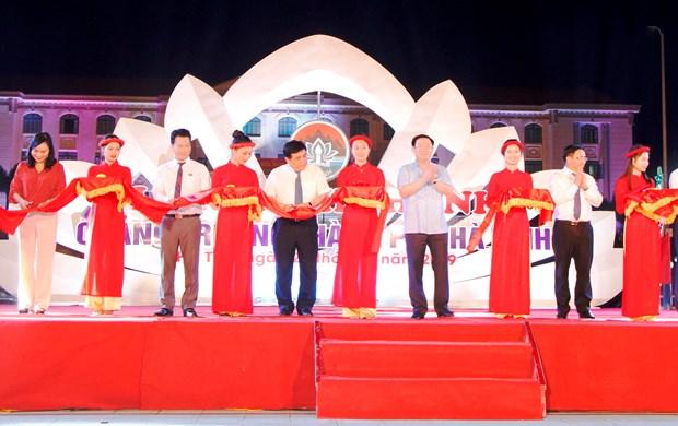 越南政府副总理王廷惠莅临河静省出席系列活动 hinh anh 1