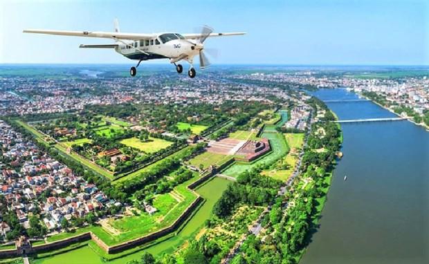 广平省同海市至岘港新航线和风牙-格榜空中观光飞行服务即将亮相 hinh anh 2