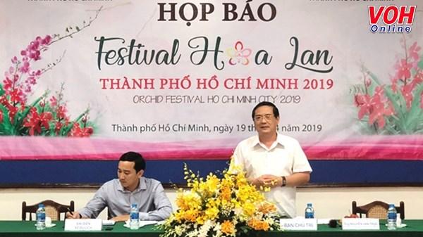 2019年兰花节将于本月底举行 hinh anh 1