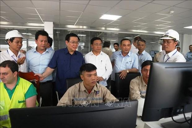 中部地区最大的中密度纤维板生产厂落成投运 hinh anh 2