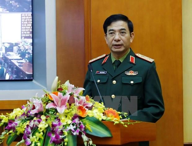 潘文江上将启程出席第八届莫斯科国际安全会议 hinh anh 1