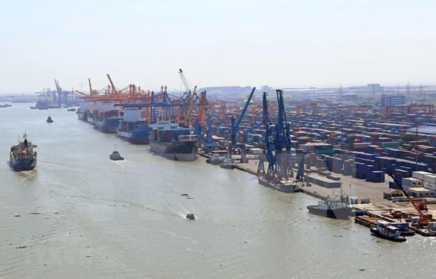越南港口货物吞吐量猛增 hinh anh 1