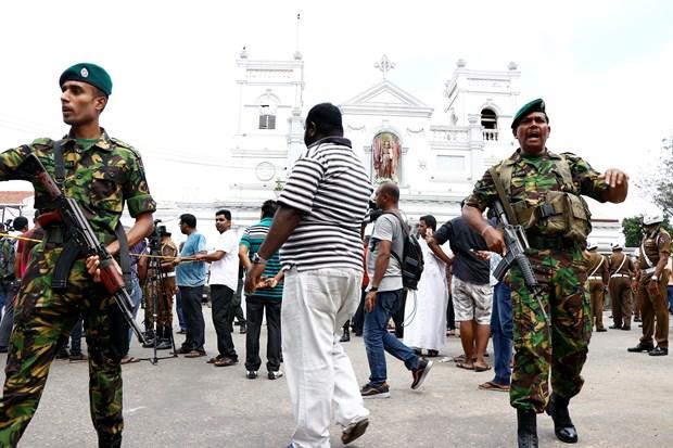 越南党和国家领导人就斯里兰卡爆炸事件向斯里兰卡领导人致慰问电 hinh anh 1