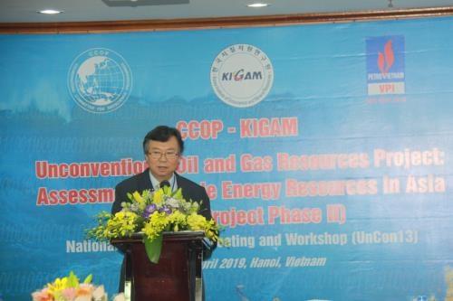亚洲各国加强合作对页岩油气储量进行评估 hinh anh 2