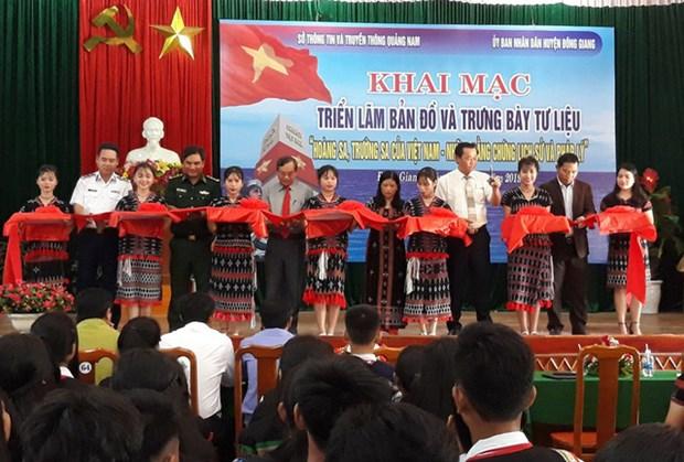 广南省致力提高人民群众对维护海洋岛屿主权的责任意识 hinh anh 1
