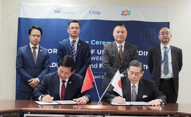 越南FPT集团与日本SBI控股株式会社联合启动零售业绩奖励计划 hinh anh 1