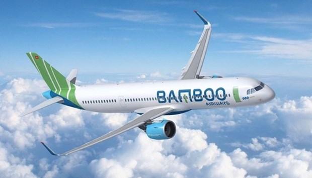 越竹航空将在4月份开通飞往韩国、中国台湾和日本的航线 hinh anh 1