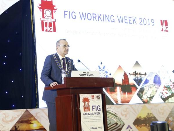 越南首次举办国际测量师协会2019年工作周会议 hinh anh 3