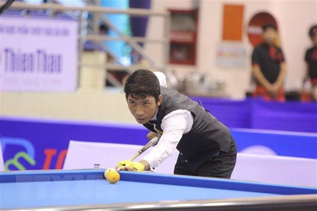 第10届亚洲开伦台球锦标赛拉开序幕 hinh anh 1