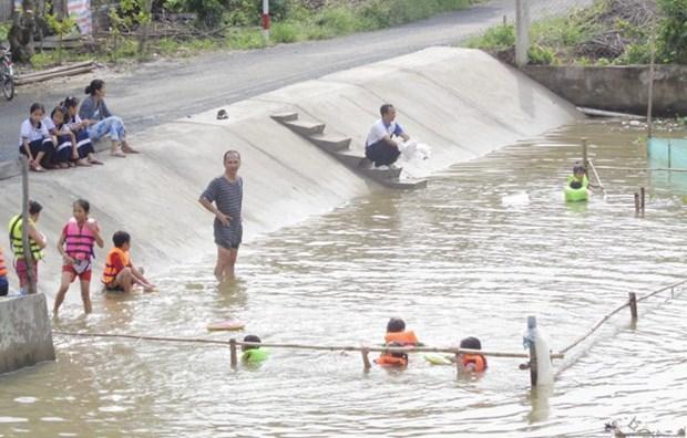各国际组织协助同塔省开展儿童溺水预防项目 hinh anh 1
