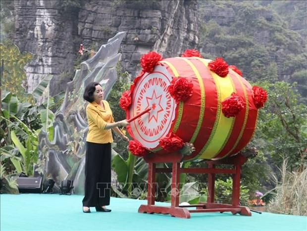2019年长安庙会在宁平省举行 hinh anh 1
