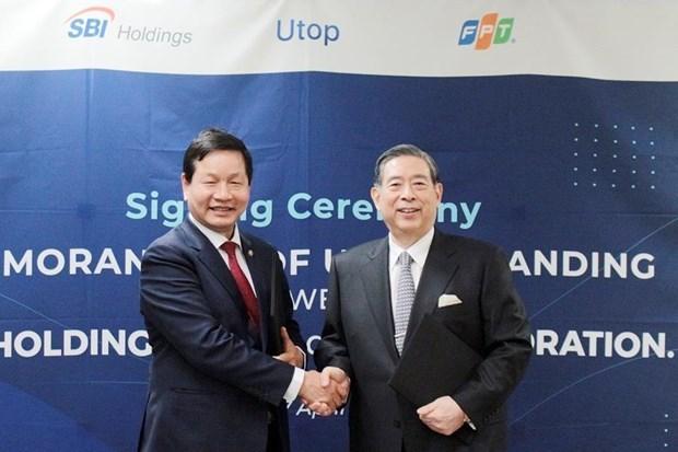 越南FPT集团与日本SBI控股株式会社联合启动零售业绩奖励计划 hinh anh 2