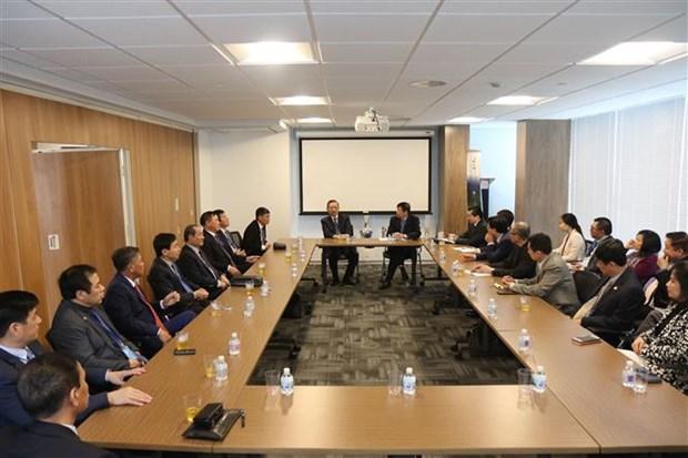越南公安部部长苏林对美国进行正式访问 hinh anh 1