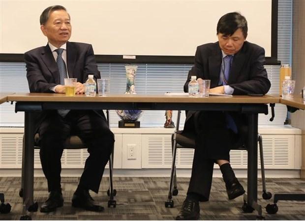 越南公安部部长苏林对美国进行正式访问 hinh anh 3
