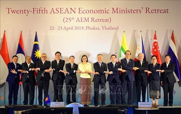 第25届东盟经济部长非正式会议开幕 hinh anh 2