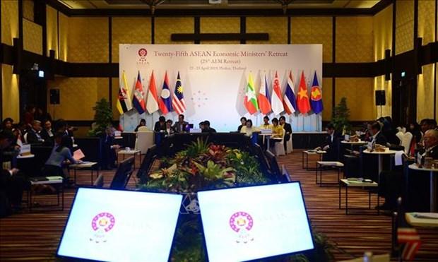 第25届东盟经济部长非正式会议开幕 hinh anh 1