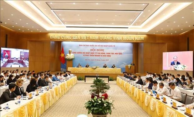 越南政府总理阮春福:融入国际是全民的事业 hinh anh 1