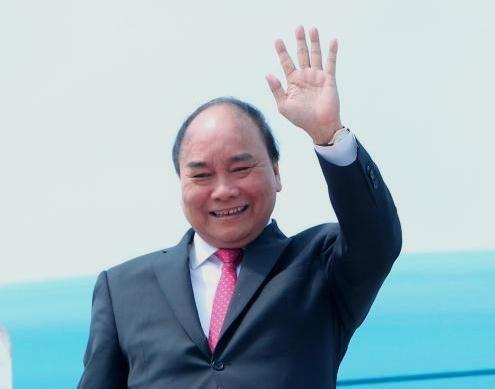 """阮春福出席第二届""""一带一路""""峰会:促进互利合作 致力于和平与繁荣 hinh anh 1"""