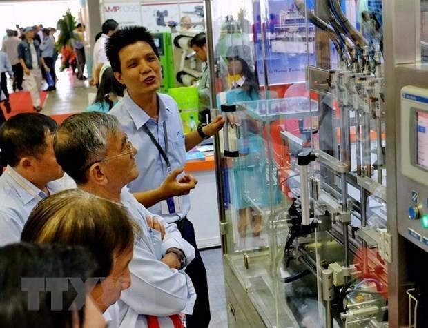 2019年河内国际塑料印刷包装工业展在河内开幕 hinh anh 1