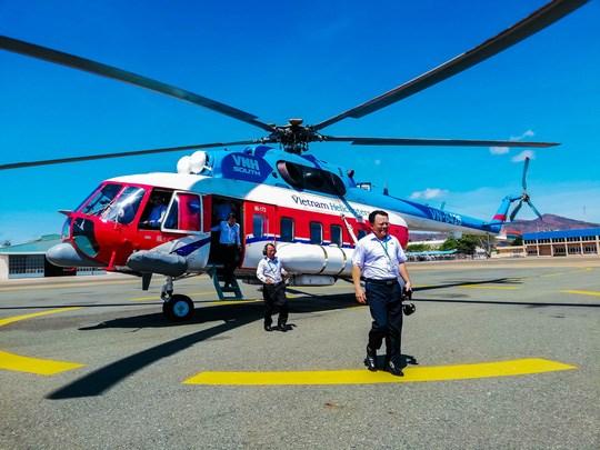 头顿至昆岛直升机旅游航线通航 hinh anh 1