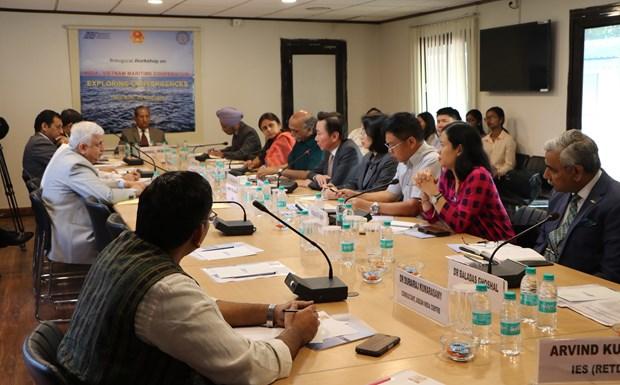 """""""印度-越南海上合作:交汇点""""研讨会在印度举行 hinh anh 2"""