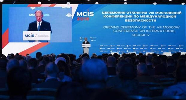 越南参加2019年莫斯科国际安全会议 hinh anh 1