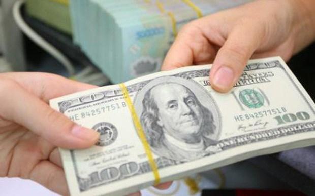 4月25日越盾兑美元中心汇率上涨5越盾 hinh anh 1